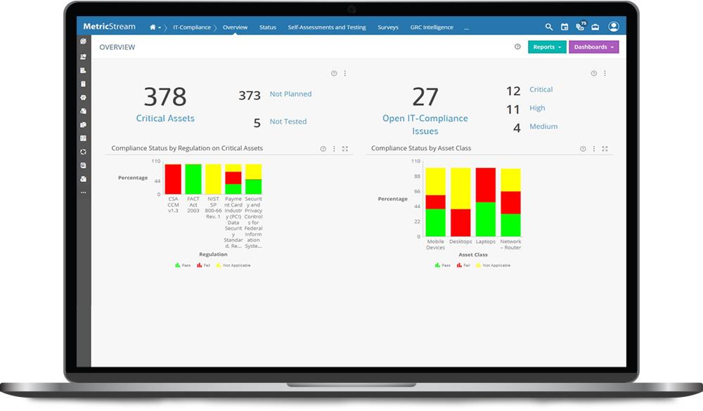 IT Compliance Management app